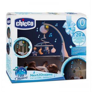 Móvil de cuna Chicco Next2Dreams Azul