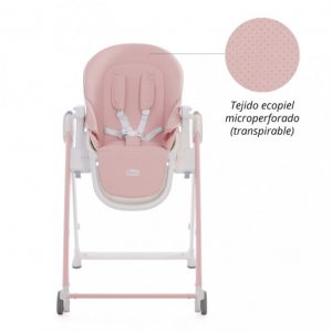 Baby Essentials Shom Chester trona Soft Pink