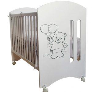 Cuna para bebé, modelo Oso Dormilón Toral