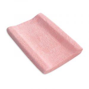Funda cubrebañera rizo Pirulos Rosa clara 50×80 cm